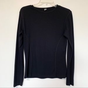 Smartwool merino wool black baselayer long sleeve